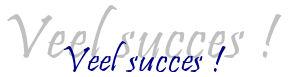 Dalto wenst je veel succes!