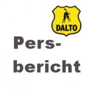 Dalto persbericht