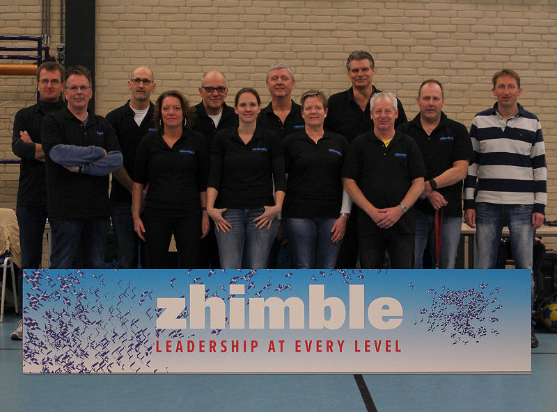 Dalto-crew met sponsor Zhimble
