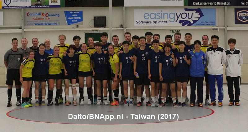Oefenduel Dalto - Taiwan