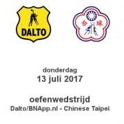 Oefenduel Dalto-Chinese Teipei
