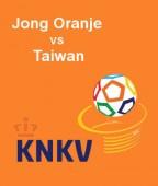 Jong Oranje - Taiwan