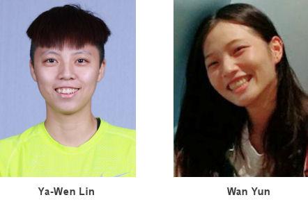 Ya-Wen Lin en Wan Yun
