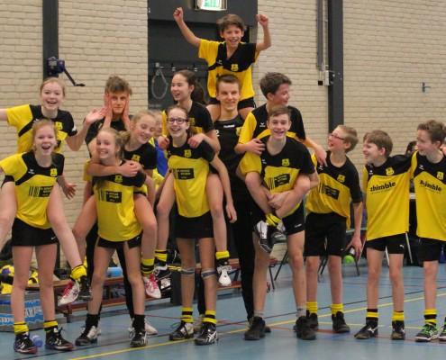 Dalto/Bergse Bossen C2 kampioen!