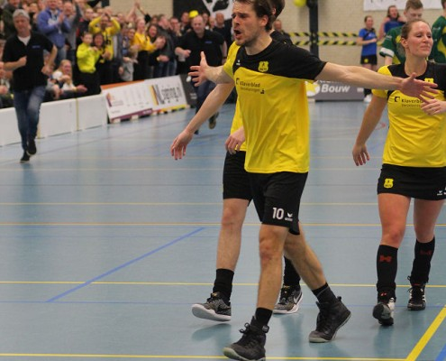 2e Play-off Dalto/Klaverblad Verzekeringen - Groen Geel