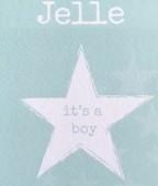 geboortekaartje Jelle