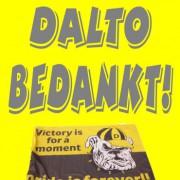 Dalto BEDANKT!