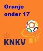 Oranje onder 17 - Daltospeler Kris Broere