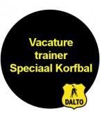 Trainer Speciaal Korfbal gezocht