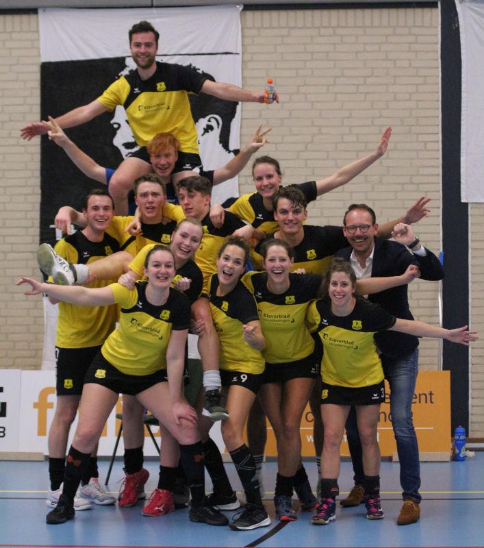 Dalto/Klaverblad Verzekeringen 2, zaalkampioen 2019