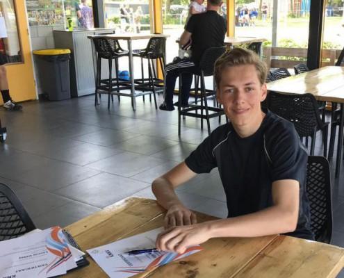 Scheidsrechtersexamen Gijs