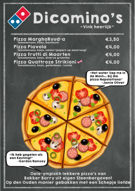 Dalto Pizza-avond