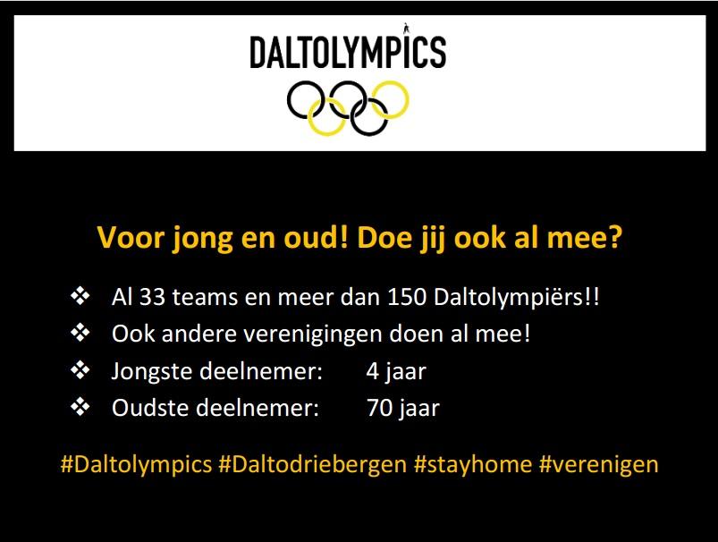 Update Daltolympics