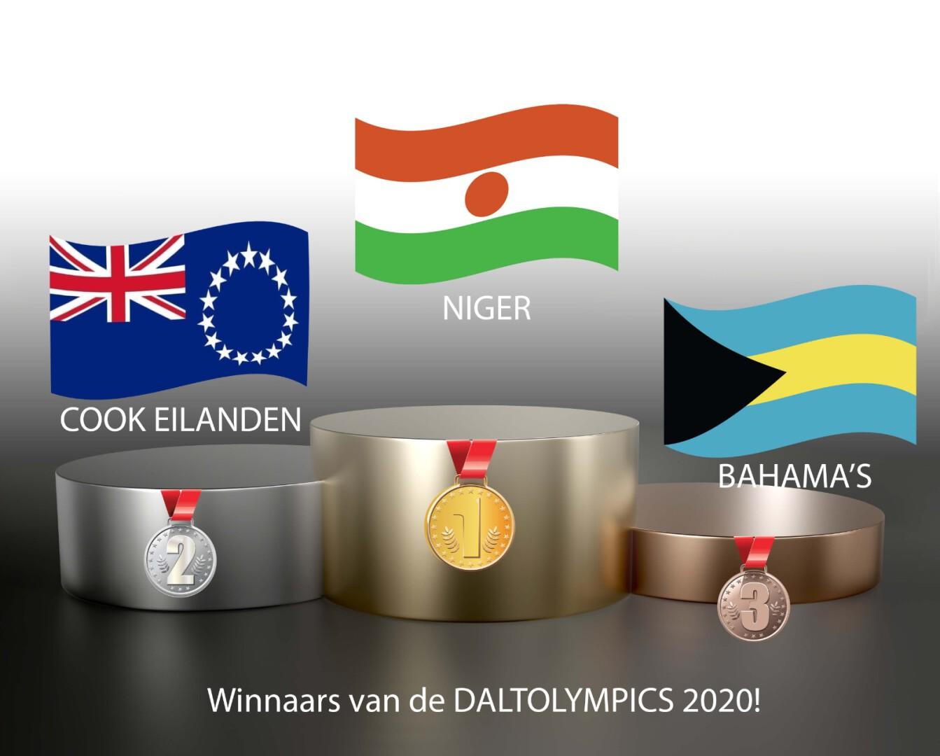 Winnaars Daltolympics