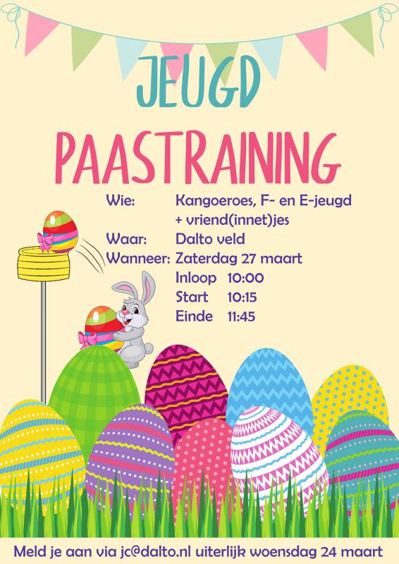20210327 Paastraining Jeugd Dalto